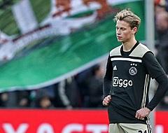 """Frenkie de Jong boos op Ajax-fans: """"Hou je mond dicht..."""""""