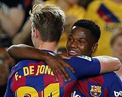 'Barcelona slaat slag met contractverlenging Fati'