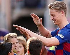 'Enorme opsteker voor Frenkie de Jong in Barcelona'