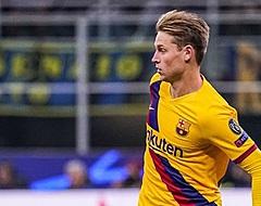 Frenkie de Jong reageert in Milaan op uitschakeling Ajax (🎥)