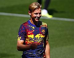 Frenkie de Jong geeft rapportcijfer voor eigen debuutjaar bij Barça