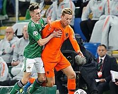 Oranje verovert ticket voor EK 2020 met remise tegen Noord-Ieren