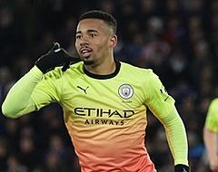 Jesus matchwinner voor City in Premier League-kraker tegen Leicester