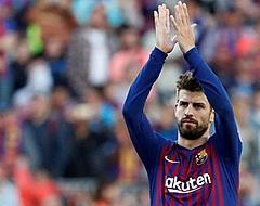 'Piqué maakt fantastisch gebaar naar twee Ajacieden'