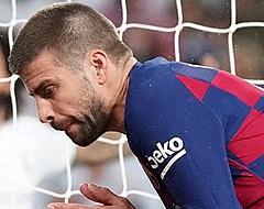 Piqué heeft auto niet nodig en scheurt met de fiets Camp Nou in (🎥)