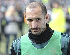 Chiellini verrast Sarri: 'Hij bracht zichzelf in'