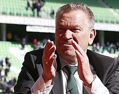 Hans Nijland in het zonnetje gezet door KNVB en Groningen op afscheidsfeest