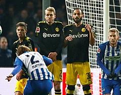 Dortmund komt in Berlijn niet verder dan gelijkspel