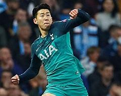 Spurs-ster Son blikt vooruit op duel met Ajax: 'Erg verdrietig en teleurgesteld'