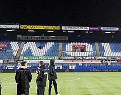 PEC Zwolle-aanhang stelt PSV-spelers op de proef