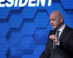 """Infantino: """"De meeste bonden willen in 2022 al 48 landen"""""""