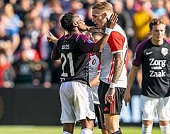 Feyenoord recht rug maar weet alwéér niet te winnen, AZ stelt enorm teleur