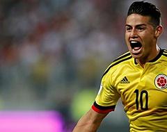 <strong>James niet aan aftrap bij Colombia, Arias en Sánchez wel</strong>