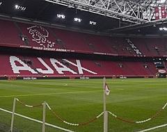 FOTO: Ajax onthult nieuwe logo Johan Cruijff Arena