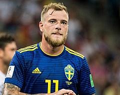 Aan Feyenoord gelinkte Guidetti kopt heerlijk raak voor Zweden (🎥)