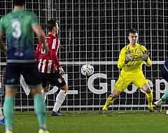Jong PSV klopt tiental Excelsior in extremis, Jong AZ - Almere onbeslist