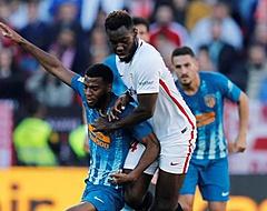 Bizar: Sevilla-speler schopt Liverpool-talent doormidden in oefenduel