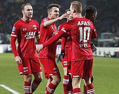 Zwaarbevochten zege in Heerenveen levert AZ eindelijk weer drie punten op