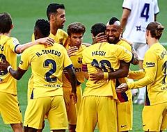 Pover Barcelona wint op pijnlijke avond voor Griezmann