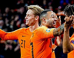 Oranje blijft UEFA-klassement domineren: Memphis beste speler