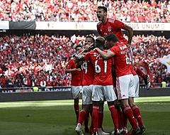 Benfica wint van Santa Clara en is landskampioen