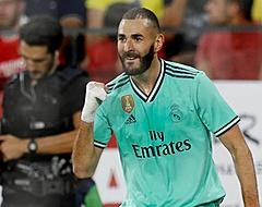 Benzema goud waard voor Real Madrid met goal tegen Sevilla