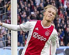 Ajax verrast eigen aanhang met Dolberg-nieuws