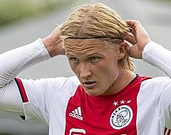 Ajax-fans leven mee met Dolberg: 'Treurige foto'