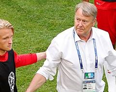 Fans maken gehakt van bondscoach Denemarken om Kasper Dolberg
