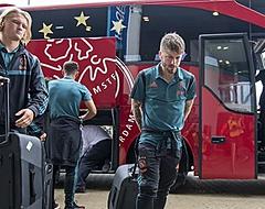 'Afgeschreven Kasper Dolberg is al vertrokken bij Ajax'
