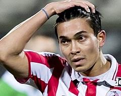 Oud-Eredivisiespeler breekt been, maar wil niet gewisseld worden