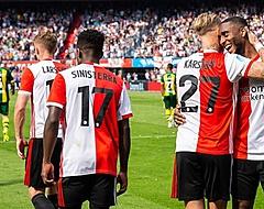 Feyenoord maakt het zichzelf knap lastig, maar wint wel