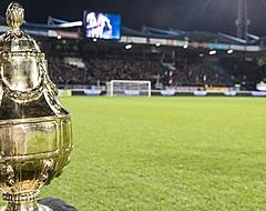 Nog eens zes profclubs zeggen KNVB Beker vaarwel na één wedstrijd