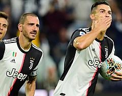 De Ligt ziet vanaf de bank Ronaldo Juventus lastige zege bezorgen