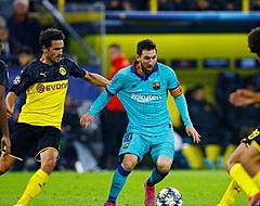 FC Barcelona ontkomt dankzij gemiste strafschop aan nederlaag bij rentree Messi