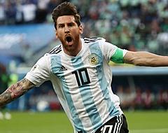 Argentinië in rep en roer door Lionel Messi-nieuws