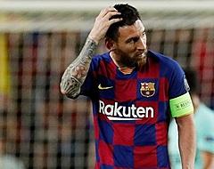 'Bizarre club neemt contact op met zaakwaarnemer van ongelukkige Messi'