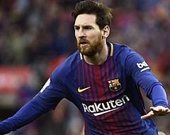 """Messi had eetprobleem: """"Zelfs een paar keer overgeven"""""""