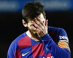 'Lionel Messi zorgt voor crisissfeer in Barcelona'
