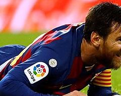 Barcelona komt met de schrik vrij na Messi-update