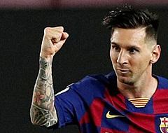 'Lionel Messi zorgt voor enorme schok in Barcelona'