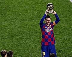 Ballon d'Or-winnaar Messi blinkt uit met hattrick