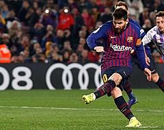 Lionel Messi bezorgt Barcelona minimale zege op Valladolid