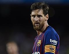 Barça-fans houden adem in: Messi lijkt arm te breken
