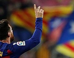 Messi krijgt fans op de banken met heerlijke uithaal (🎥)
