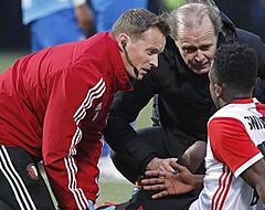 'Fikse tegenvaller voor Feyenoord: Sinisterra zwaargeblesseerd'