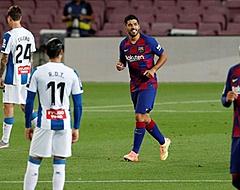 Luis Suárez beslissend in derby van Barcelona