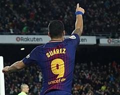 Suárez loodst Barça naar zege op ongelukkige avond Messi
