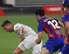 Sevilla wint op frustrerende avond voor Luuk de Jong