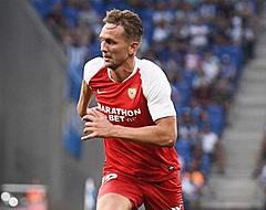 Fans en kijkers Sevilla maken zich nu al zorgen om Luuk de Jong